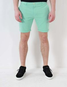 Scotch & Soda Mint Chino Shorts | Accent Clothing
