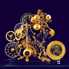 A self-taught clockmaker, Miki Eleta designs and builds fantastic, conceptual timepieces by hand