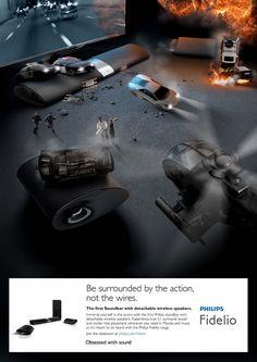 #CreativeFanClub // Philips Sound Fidelio Wireless Speakers #Advert