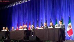 México, Canadá y EU acuerdan acelerar acuerdos del TLCAN; la próxima reunión será en la CdMx