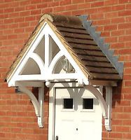 Timber Front Door Canopy Lean to Mono pitch ELLESMERE Canopies | eBay