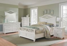 A perfect VCF set for a shabby chic bedroom!