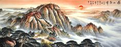 Artworks drawing First-class painter Chinese painting for sale Landscape Painting - US $554.00