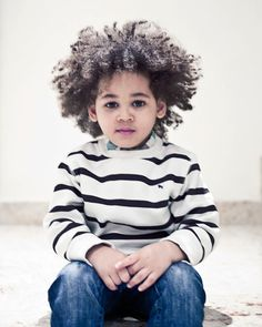 Baby boy curls - gotta love 'em! #naturalhair #teamnatural
