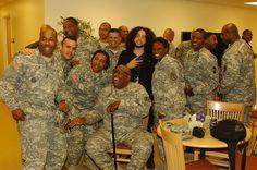 (Far Left) Rodney Little, TerraVida's Director of Veterans Affairs