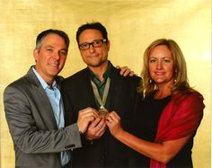 Kevin Manion, Al Conti, Beth Hilton at event for #Grammy nominees.