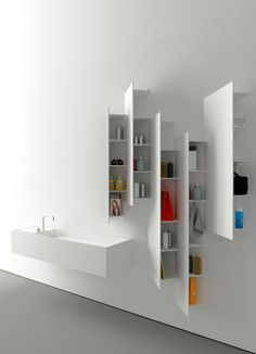 Boffi presents the latest #kitchen and #bathroom collections at London Design Festival 2013 #minimal #white
