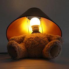Veioza Ursulet de plus Mindblower,ro Un cadou dragalas care se va incadra perfect pe noptiera din camera copiilor