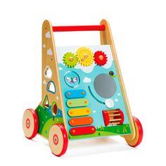 Chariot de marche multi-activités - Pour accompagner les premiers pas de bébé et ses premières explorations - 59,95 €