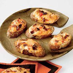 Pimiento Cheese and Bacon Crostini Recipe - Delish.com