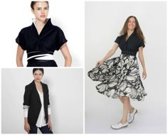 http://www.etsy.com/shop/LayouDesign Elegant tailored line women clothing, designed in minimalism, color and shape.