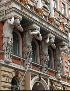Art Nouveau in Helsinki Classical Architecture, Amazing Architecture, Art And Architecture, Architecture Details, Lappland, Saint Marin, Art Nouveau, Visit Helsinki, Finland Travel