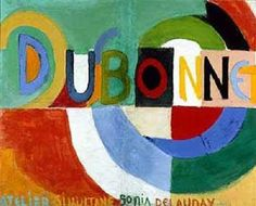Sonia Delaunay | Dubonnet, 1914 | Museo Nacional Centro de Arte Reina Sofía, Madrid