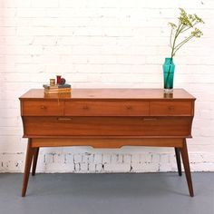 Vintage 50's credenza from Winter's Moon. Lovely.