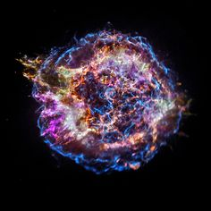 Supernova remnant Cassiopeia A (Cas A), located about 11,000 light years from Earth (Credit: NASA/CXC/SAO)