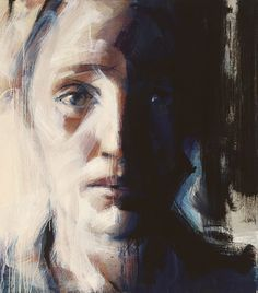 "Saatchi Online Artist Bertrand Neuman; Painting, ""sandrine"" #art"