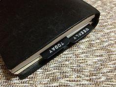 Bookmarks on my Chronodex and Midori TN diary.