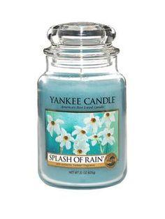 "Yankee Candle ""Splash of Rain"""