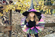 Niña bruja Tutu disfraz  Halloween venta  niño / niño  niña