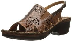 Ariat Womens Polly Ray Open Toe Perforated Wedge Sandals Almond Size 11 MDescriptionAriat Womens Polly Ray Open Toe Perforated Wedge SandalsLeather UpperHeel me Cover Letter Design, Wedge Sandals, Amazing Women, Me Too Shoes, Open Toe, Women Sandals, Ladies Sandals, Wedges, Lady