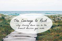 Planeando a Vida: Descansar: essa bela necessidade!