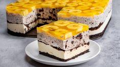 Вам не потрібно бути професійним кухарем, щоб приготувати найкращий торт у світі з бананами та печивом - savuros.info Food Cakes, Cheesecake, Sweet Recipes, Cake Recipes, Biscuit Oreo, Romanian Desserts, Apple Desserts, Le Chef, No Bake Cake