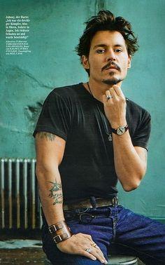 Johnny Depp armband exclusief verkrijgbaar op www.fabstyle.nl in de kleuren bruin en zwart