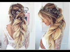 Romantic Hairstyles By Ulyana Aster - YouTube