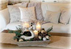 Ιδέες Χριστουγεννιάτικης διακόσμησης για το τραπεζάκι του σαλονιού σας | Τsekouratoi.gr