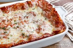 This homemade lasagna recipe requires basic ingredients and a little time to assemble but it's definitely worth it. It's easy and always turns out great!