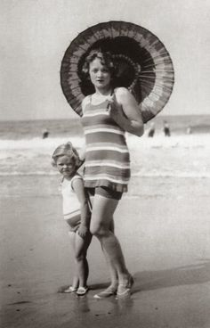 Marlene and her only daughter, Maria Riva, born 1924. 'I have a child and I have…