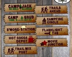 Sign Ideas for VBS