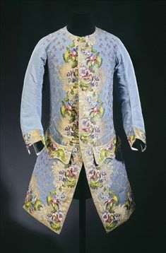 ca. 1750 Waistcoat worn by Claude Lamoral II (1685–1766), Prince of Ligne and the Holy Empire | Palais Galliera | Musée de la mode de la Ville de Paris