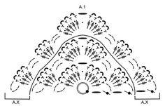 Calandria / DROPS 175-21 - Scialle lavorato all'uncinetto con motivo a ventaglio in DROPS Baby Merino e DROPS Brushed Alpaca Silk, lavorato dall'alto in basso. - Modello gratuito di DROPS Design