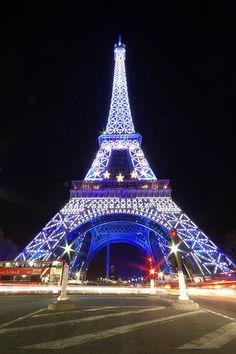 Eiffel by night