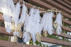 Beijos Events Boho Gold Baby Shower - Featured on Inspired By This Blog