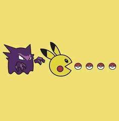Haunter, Pikachu