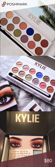 NEW Kylie Peach Palette Brand new, bought from Kylie site. 100% Authentic. No trades price is firm Kylie Cosmetics Makeup Eyeshadow