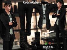 MESH Sorrel Male Outfit *FashionNatic*