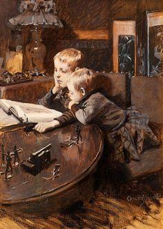 pintura de Oscar Björck