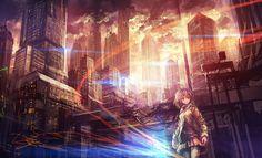 【壁紙】2次元の幻想的な風景・夜景の画像part1 : 禿同ニュース速報|まとめサイト