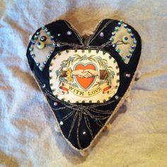Victorian Heart Pincushion