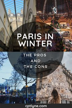Visiting Paris In Winter: The Pros and The Cons – Lyne Goes Around – Best Europe Destinations Paris Travel Tips, Europe Travel Tips, European Travel, Travel Guides, Places To Travel, Places To Visit, Budget Travel, Travel Goals, Travel Hacks