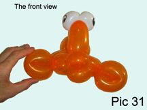 Fish 2 Balloon Animal