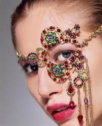 Jeweled Face Mask