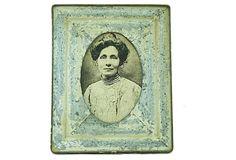 5x7 Blue Vintage-Inspired Frame on OneKingsLane.com