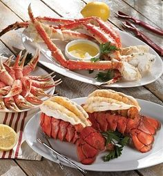 Lobster and King Crab - Great Deals at www.AlaskaKingCrabs.com