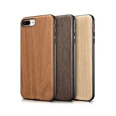 iPhone 7 Woodgrain Series Silicone Case from infpass.com