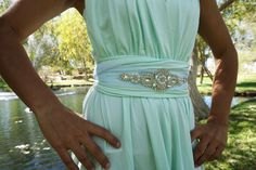 Pearl Crystal Rhinestone Bridal Belt, Wedding Belt, Bridal Sash, Bridal Accessories, Shashes, Bridesmaid Belt, Accessories