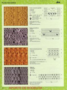 Puntadas de crochet gratis - Imagui